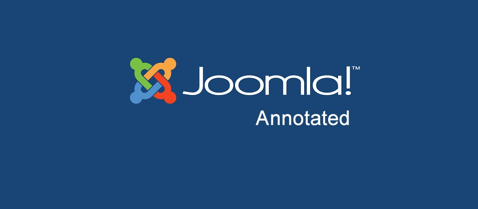 Joomla! Annotated – March 2021
