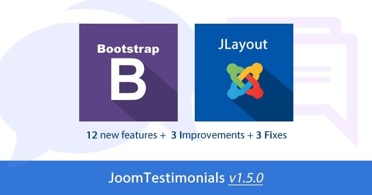 JoomTestimonials v1.5.0