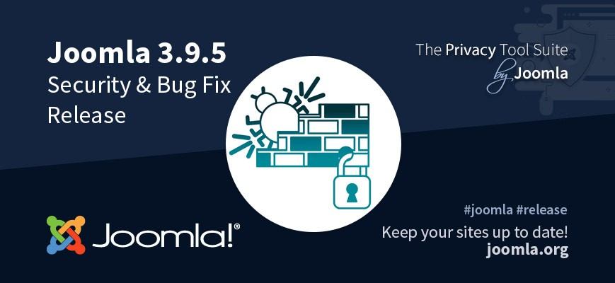 Joomla v3.9.5 - Security update with fixes and some few improvements