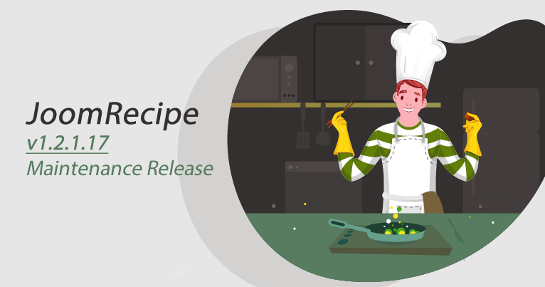 joomrecipe-maintenance-version