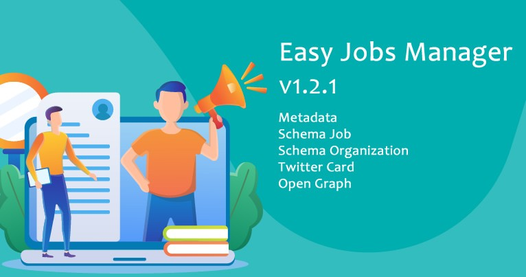 Easy Jobs Manager - with 6 new SEO features