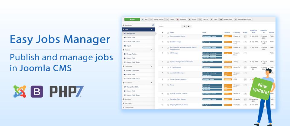 Easy Jobs Manager v1.2.7.2 - Maintenance update